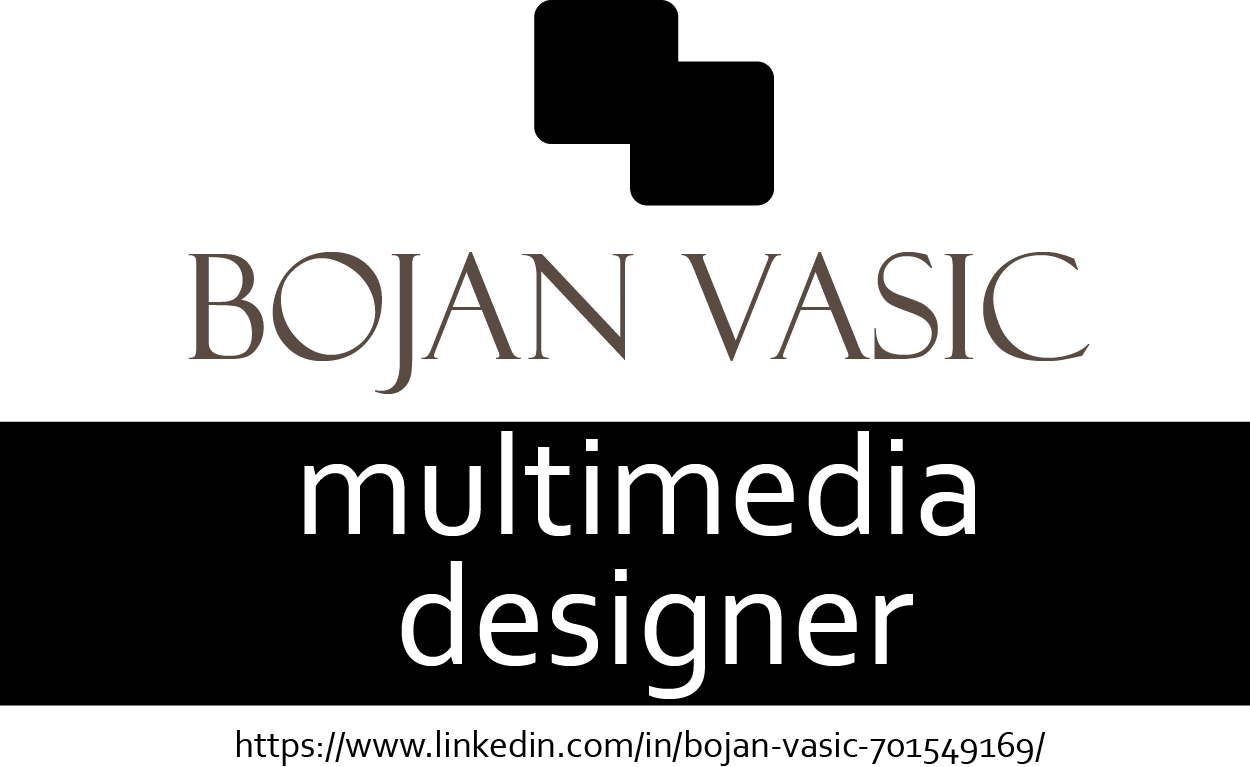 Bojan Vasic multimedia designer